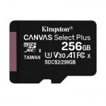 KNG 256GB microSDHC+AD CL10 UHS-I Canvas Select Plus