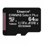 KNG  64GB MicroSD Class 10 UHS-I Canvas Select Plus