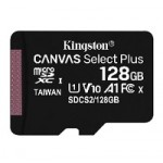 KNG 128GB microSDHC CL10 UHS-I Canvas Select Plus
