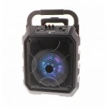 Xtech Party Spkr Wls-BT Revelry black with wire mic XTS-710